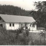 výstavba chaty Kamence 1972- 75